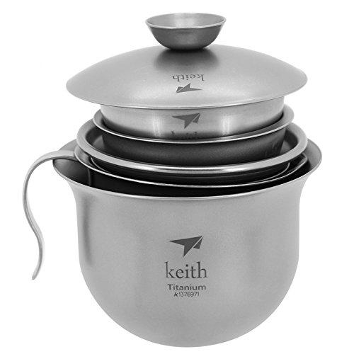 Keith Titanium Tea Set