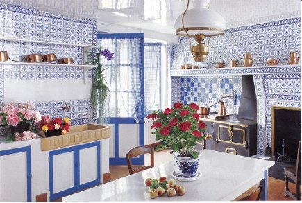 I Spent WAY Too Much Time Going Through Photos Of Monetu0027s House In Giverny.  I Was Trying To Get A Peek At The Contents Of His China Cabinets In The  Dining ...