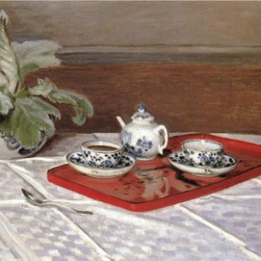 Tea in Art: Monet: The Tea Set
