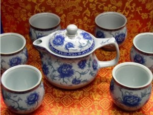 blue white china