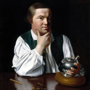 Tea in Art: Paul Revere By John Singleton Copley