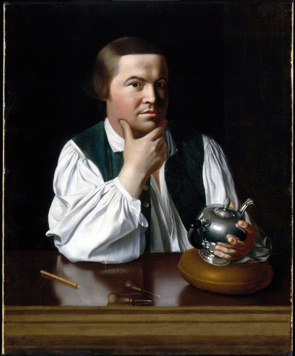 Paul Revere with Teapot