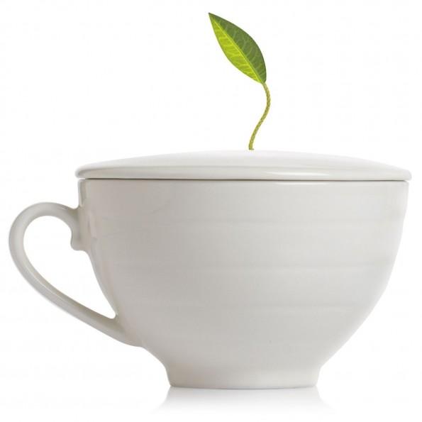 tea leaf cup