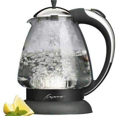 Capresso H20 Plus Glass Water Kettle